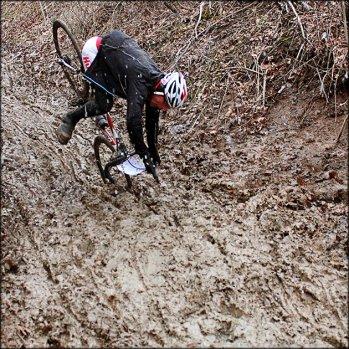 Mud chute